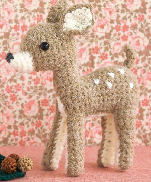 Little Deer Toy - Amigurumi Crochet Pattern