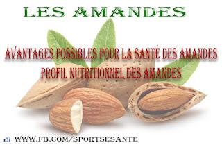 Les amandes: Bienfaits, Profil nutritionnel