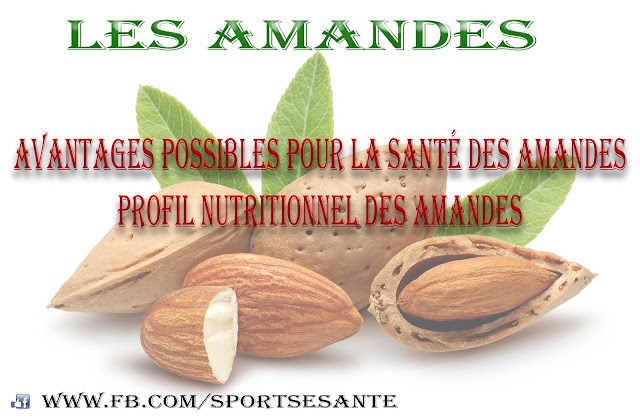 Les amandes: Bienfaits, Profil nutritionnel