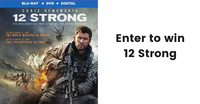 12 strong movie giveaway, 12 strong, movies, films, father's day, for him, gift,
