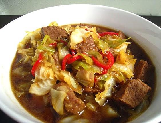 Resep Tongseng sapi tanpa santan khas Solo
