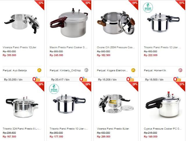 Mengenal (Merek) Panci Presto Berkualitas Untuk Hasil Masakan Terbaik