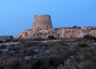 Torre vigía de Mesa Roldán. Cabo de Gata-Níjar
