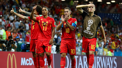 Highlight Brazil 1-2 Belgia, 6 Juli 2018