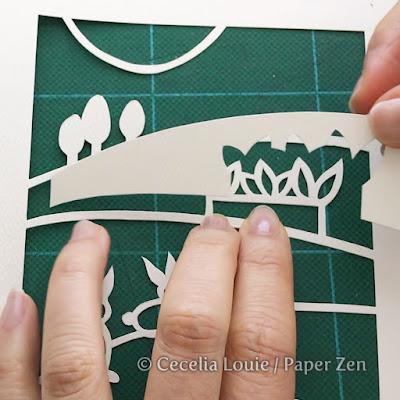 papercut landscapes strathmore paper