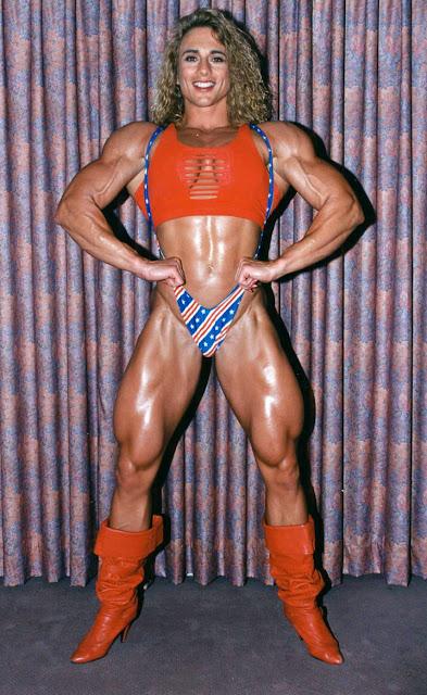 S 90 3 >> 90's Female Muscle: Denise Rutkowski