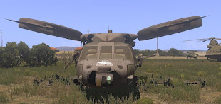 Arma3用 UH-60 Blackhawk MOD