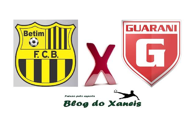 Acompanhe o jogo entre Betinense x Guarani ao vivo - Campeonato Mineiro - Mod. II