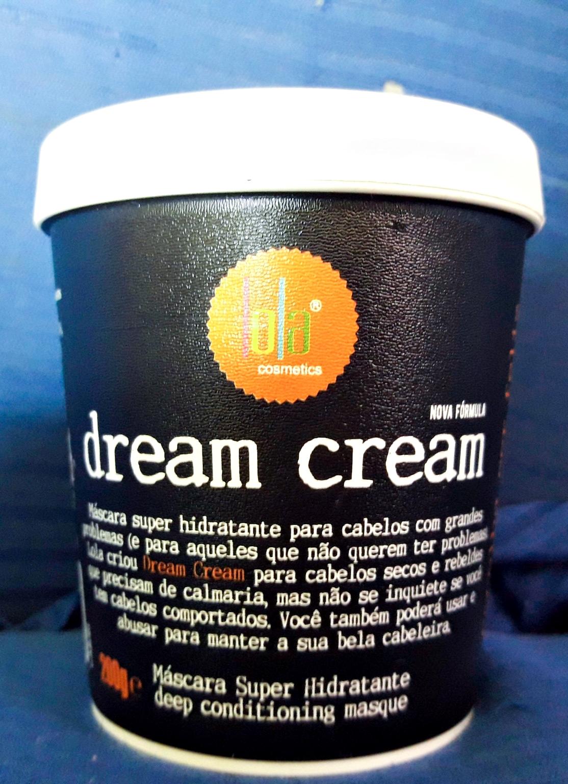 Resenha comparativa Dream cream formula nova e formula antiga