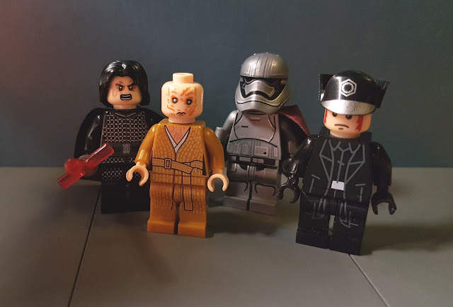 Snoke, Kylo Ren, Captain Phasma and General Hux, First Order, Star Wars, force awakens, last jedi