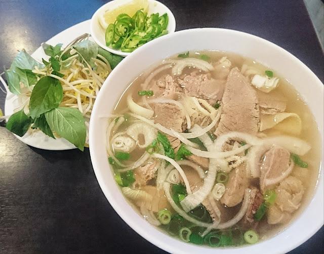 Pho Minh Long, Mitcham, beef pho
