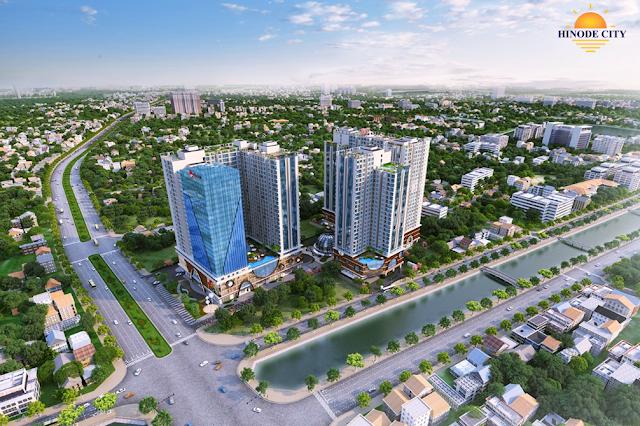 Toàn cảnh dự án Hinode City