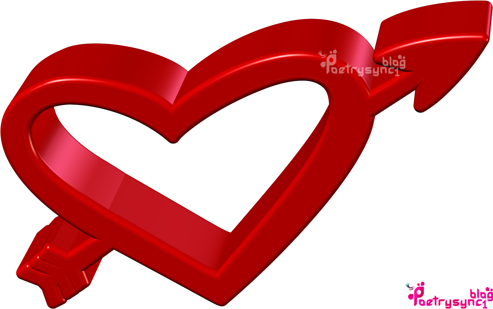 3D Love Heart Wallpapers Images With Wishes Messages