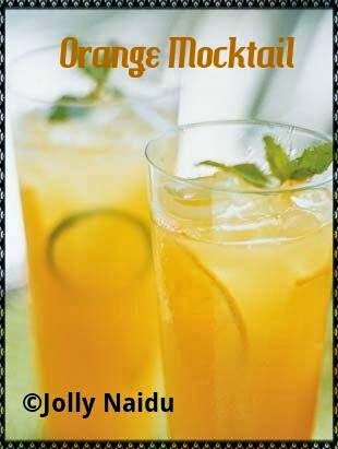 Orange Mocktail Recipe