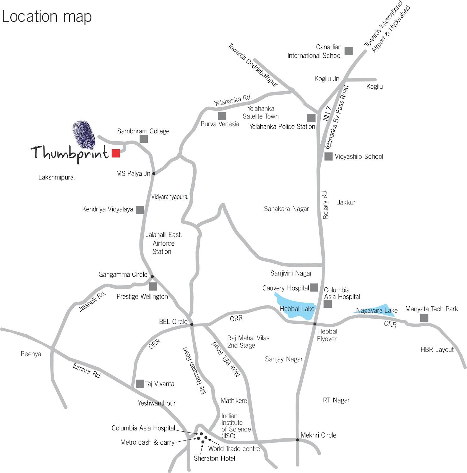Thumbprint Vidyaranyapura