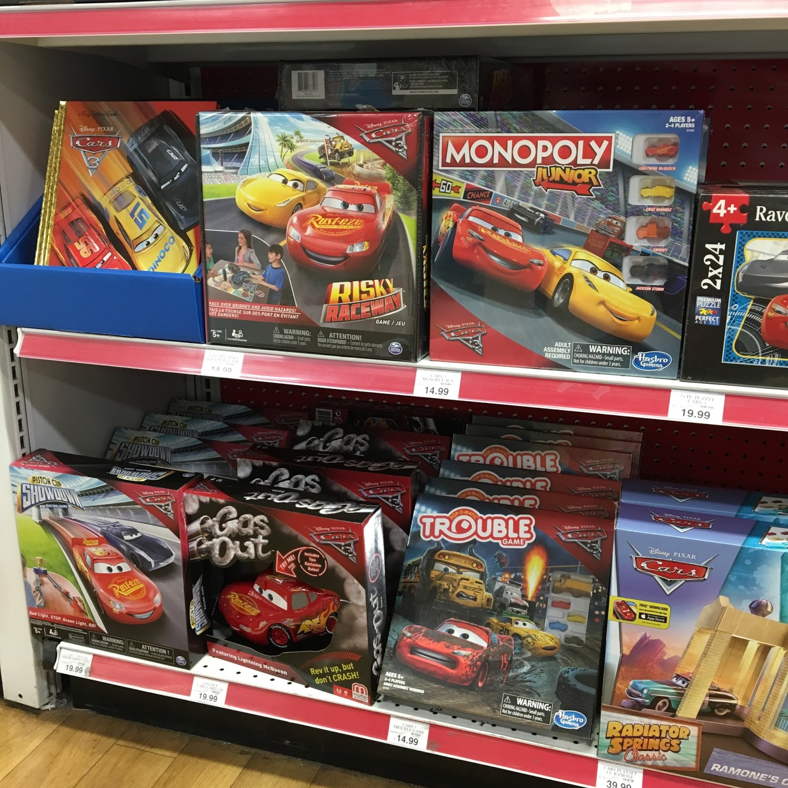 pixar cars 3 toys release 2017 toys r us