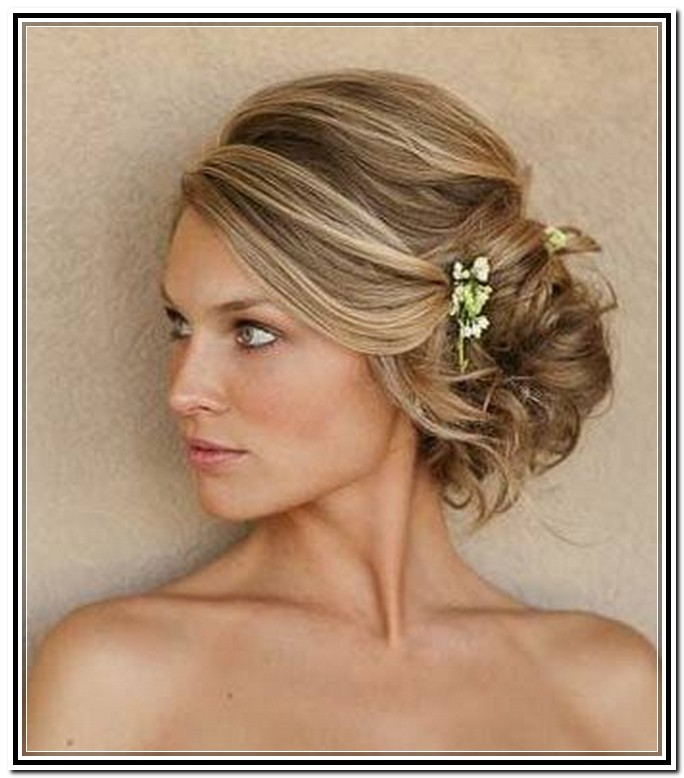 27 Beautiful Side Updo Hairstyles | Hairstylo