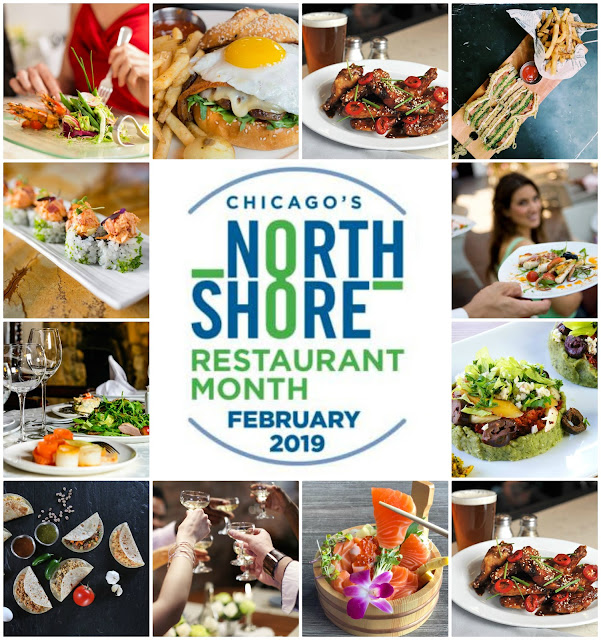 Chicago's North Shore Restaurant Month February 2019