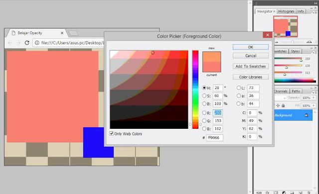 RGBa & HSLa 2- web desain