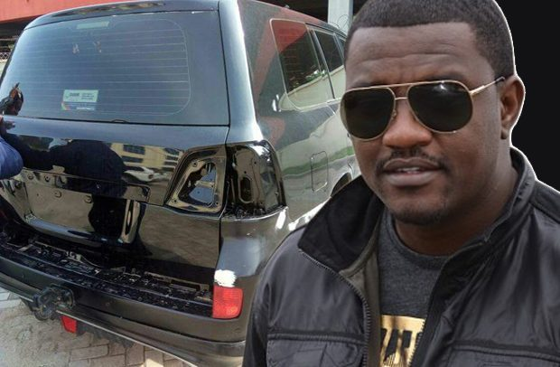 Dumelo's V8 Land Cruiser, suspected to be state property was seized