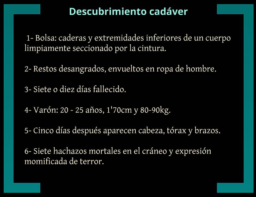 296466158bd0b Criminal Descubierto  Covadonga Sobrino La Descuartizadora de Leon
