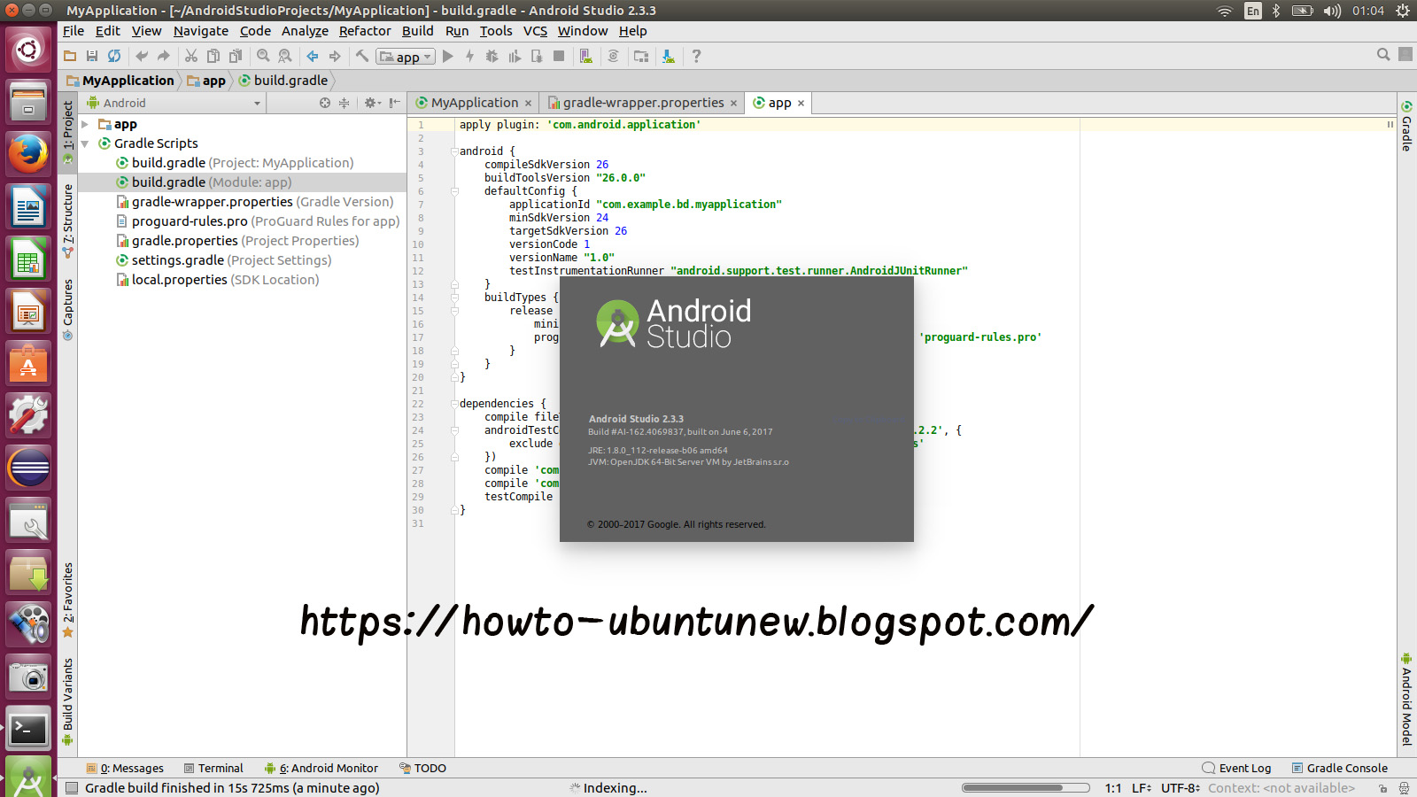 how to install program on ubuntu how to install android studio