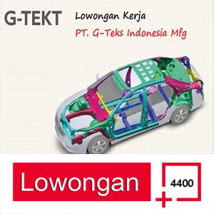 Lowongan Kerja PT. G-TEKT Indonesia Manufacturing