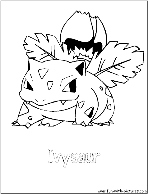 Grass Pokemon Coloring Pages  Free Printable Colouring Pages For Kids To  Print And Color In