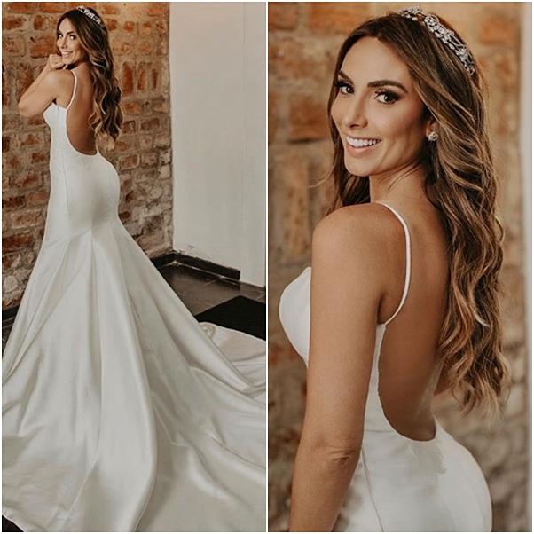 vestido de noiva Nicole Bahls