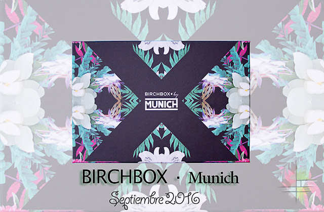 Munich, la Birchbox de Septiembre de 2016.