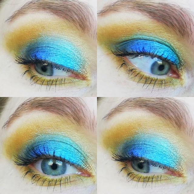 Makijaż paletką Zmalowanej wibo #mychoicewibo