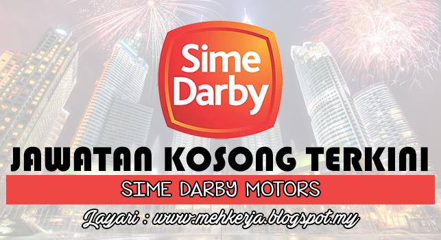 Jawatan Kosong Terkini 2016 di Sime Darby Motors