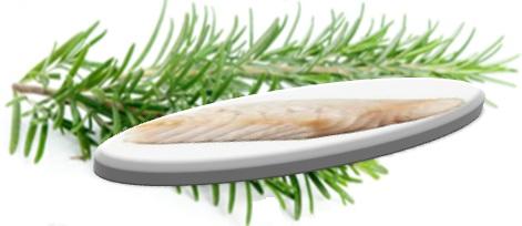 filets - de -merlu - parfumés - au - romarin - oil - olive - recette - préparer- plat - au naturel