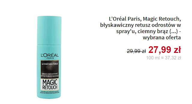 Loreal - Spray na odrosty