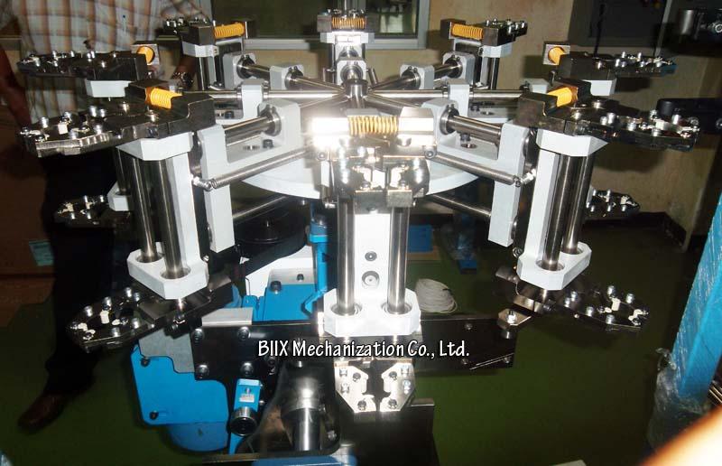 BIIX Mechanization Co. Ltd. has made 3 l& transfer turrets for Philips Vadodara Light Factory (India). Machine speed is 1500 l&s/h. & BIIX Mechanization Co. Ltd.: Lamp Transfer Turret for Philips ...