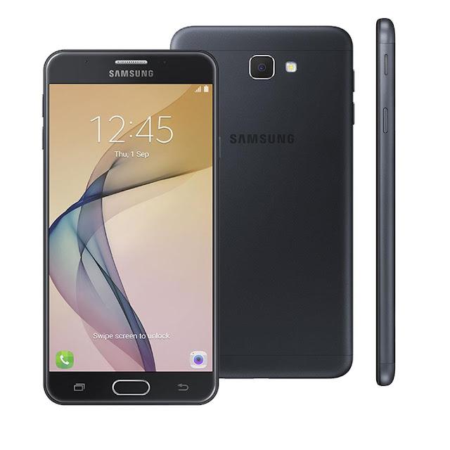 Smartphone Samsung Galaxy J7 Prime Duos Preto com Dual Chip, 4G, Leitor Biométrico, Android 6.0 e Processador Octa Core
