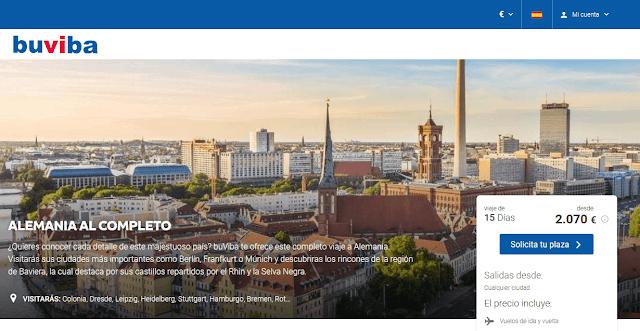 Viaje organizado Alemania al completo
