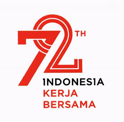 Download Logo Kemerdekaan HUT RI 72 Indonesia Merdeka