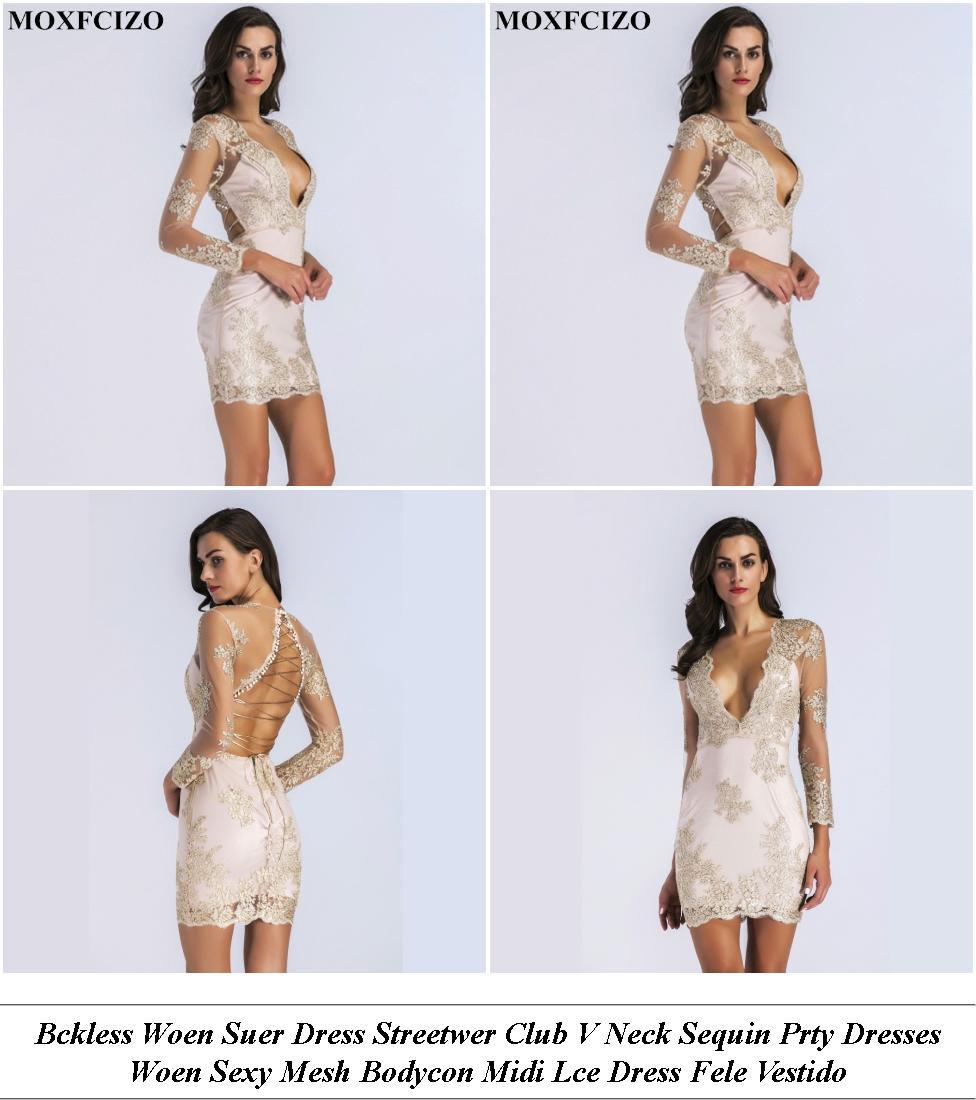 Beach Dresses - Spring Summer Sale - Sequin Dress - Cheap Name Brand Clothes