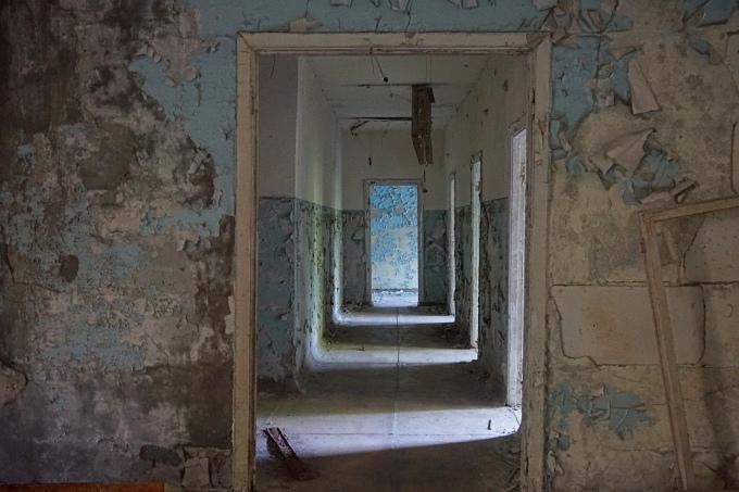 Kokemuksia Tshernobylistä - päiväretki Kiovasta Pripyatiin (Pripjat): Hylätyt paikat ja autiot talot. Retken järjesti Chernobylwel.come