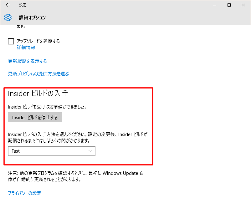 【Windows 10 Insider Preview】ビルド10159_4