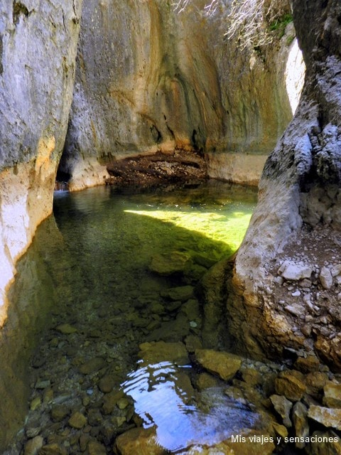 Nacimiento de río Guadalquivir, Sierra de Cazorla, Segura y las Villas