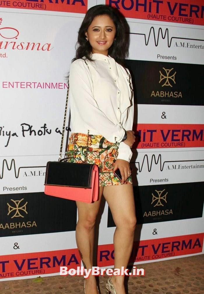 Rashmi Desai, Sunny Leone, Koena Mitra Hot Pics from  Rohit Verma's Bridal Show