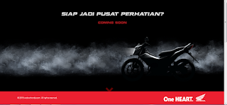 Bocoran Foto Honda Sonic 150R Dan Video we love honda