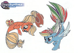 My Little Pony Tattoo Card 10 MLP the Movie Trading Card