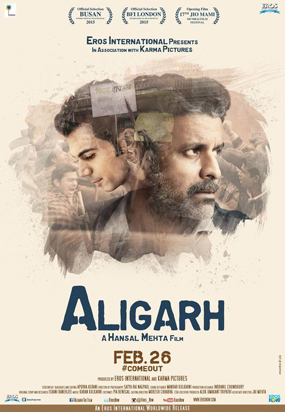 full cast and crew of bollywood movie Aligarh 2016 wiki, Rufy Khan, Dipti Dhotre story, release date, Actress name poster, trailer, Photos, Wallapper