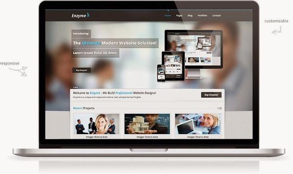 Enzyme: Free HTML5 Responsive Theme