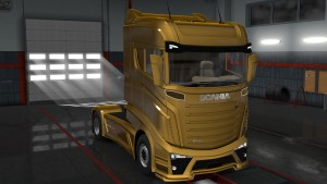 Scania Concept truck mod