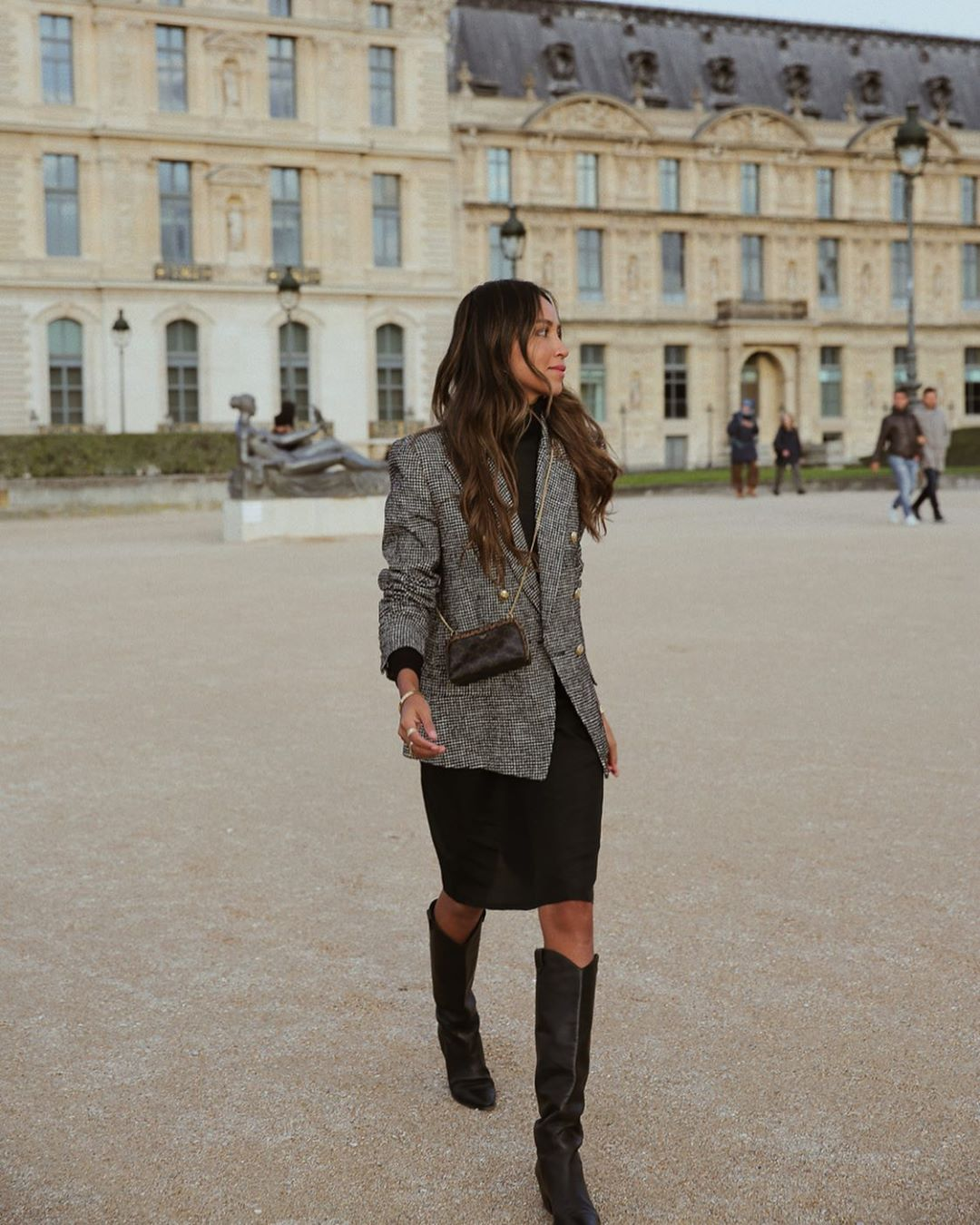 A Chic Way to Style Western Boots