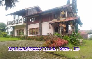 Villa Kayu 2 Kamar Tidur Di Lembang Ditambah Konsep Gelaran